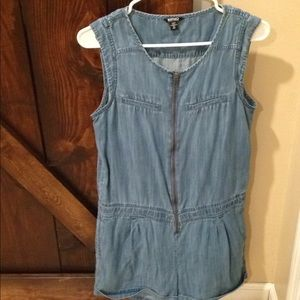 Buffalo Chambray romper